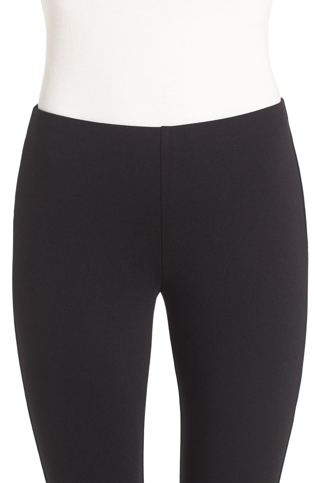 Alternate Image 4  - Eileen Fisher Slim Ponte Knit Pants (Regular & Petite)