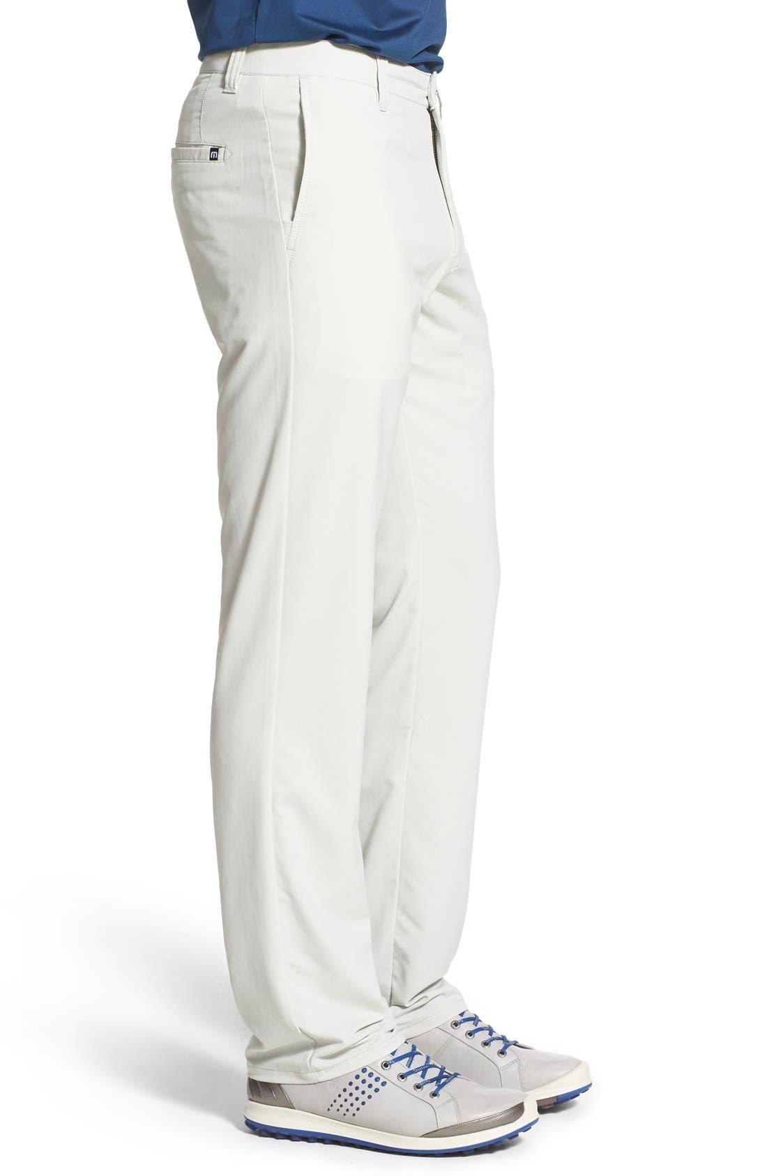 'Hough' Trim Fit Golf Pants,                             Alternate thumbnail 3, color,                             Dawn Blue/ Grey