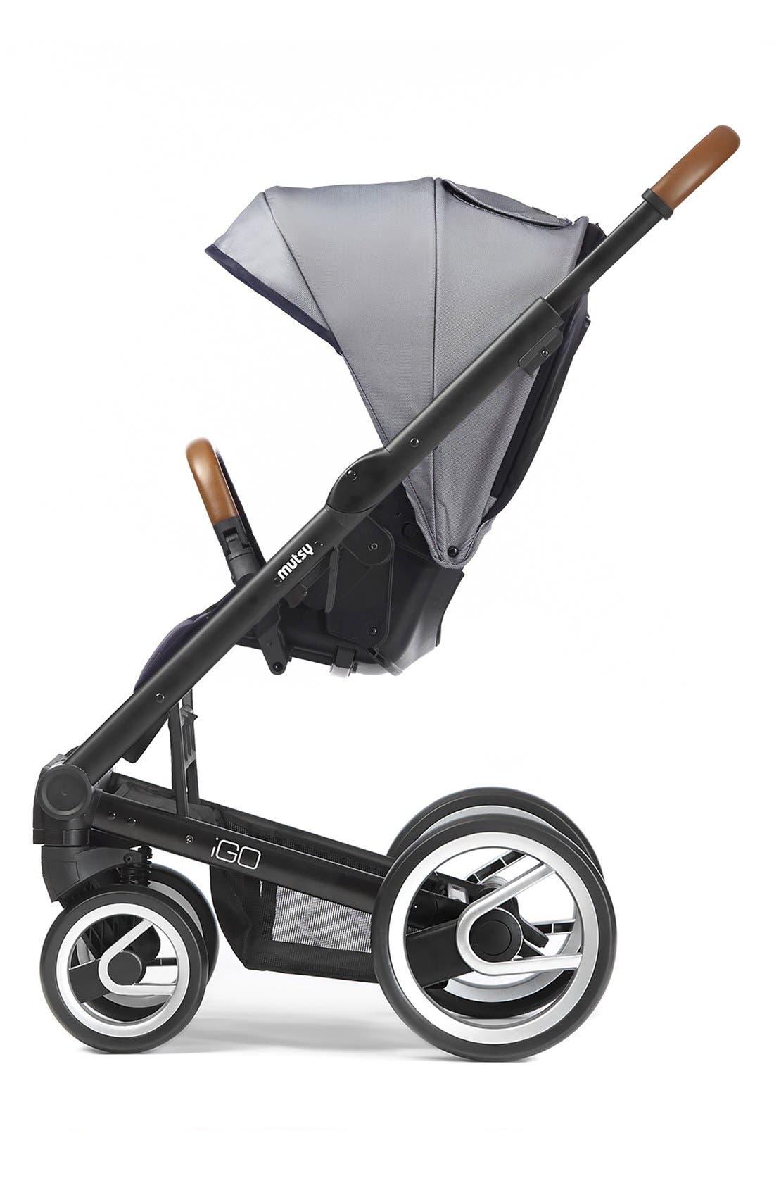 Igo - Urban Nomad Stroller,                         Main,                         color, Black/ White/ Blue