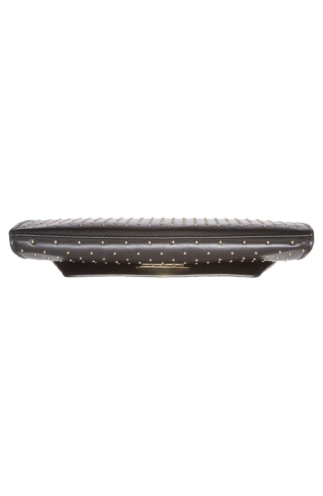 Alternate Image 6  - Diane von Furstenberg '440 Glory Uptown' Studded Leather Clutch