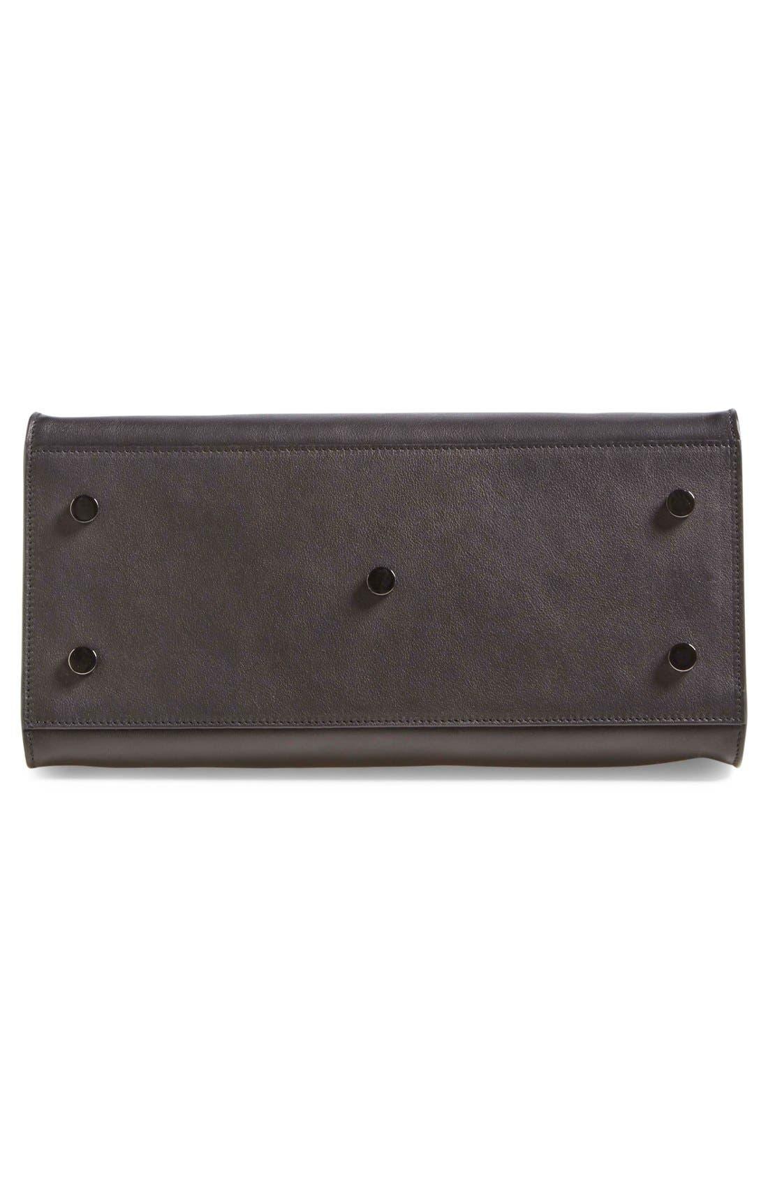 Alternate Image 6  - Saint Laurent 'Small Cabas' Leather Satchel