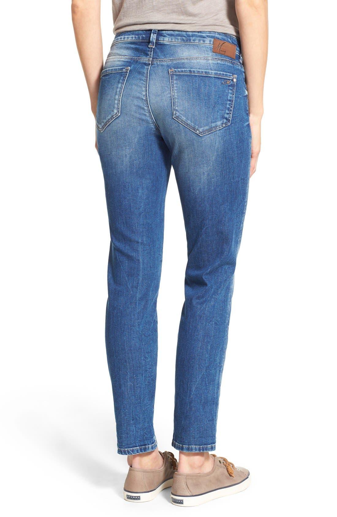 'Emma' Stretch Slim Boyfriend Jeans,                             Alternate thumbnail 3, color,                             Emma Shaded Vintage