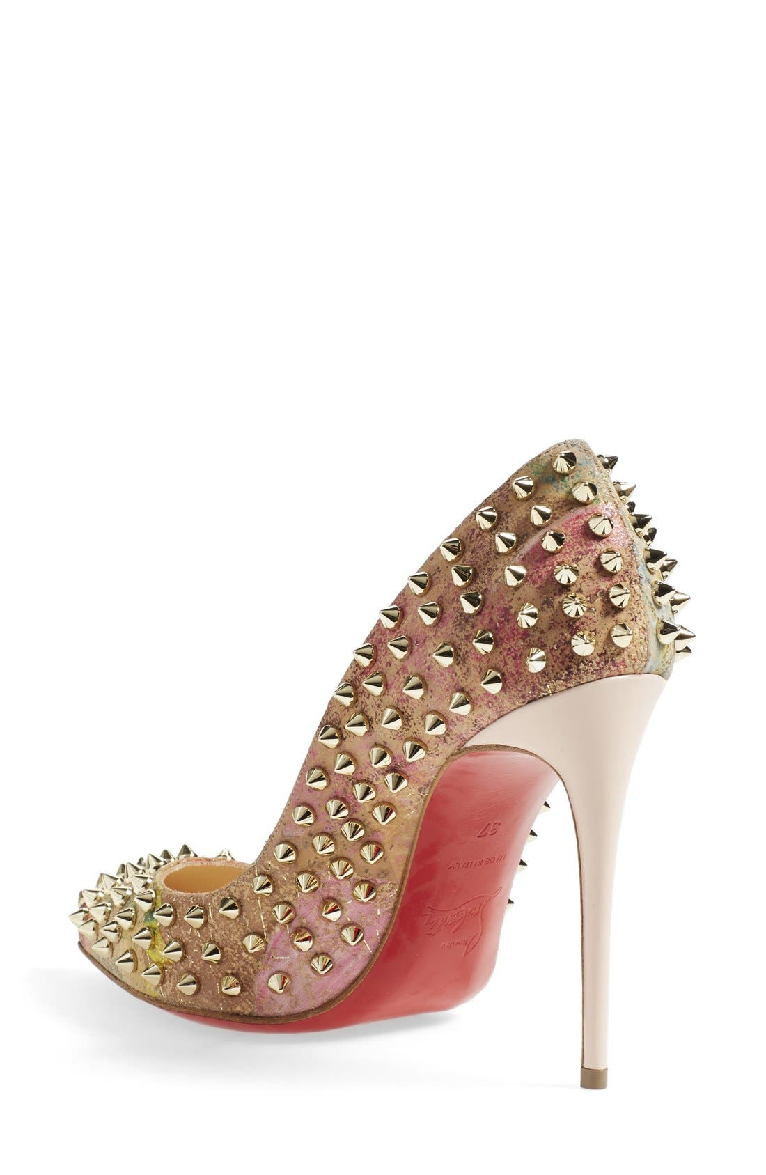 Alternate Image 2  - Christian Louboutin 'Follies' Studded Pump