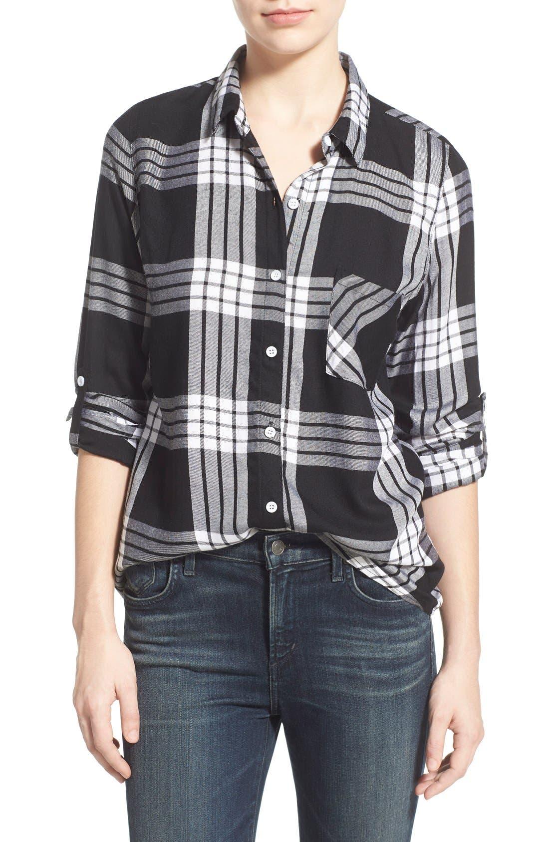 Alternate Image 1 Selected - Thread & Supply 'Denver' Plaid Shirt