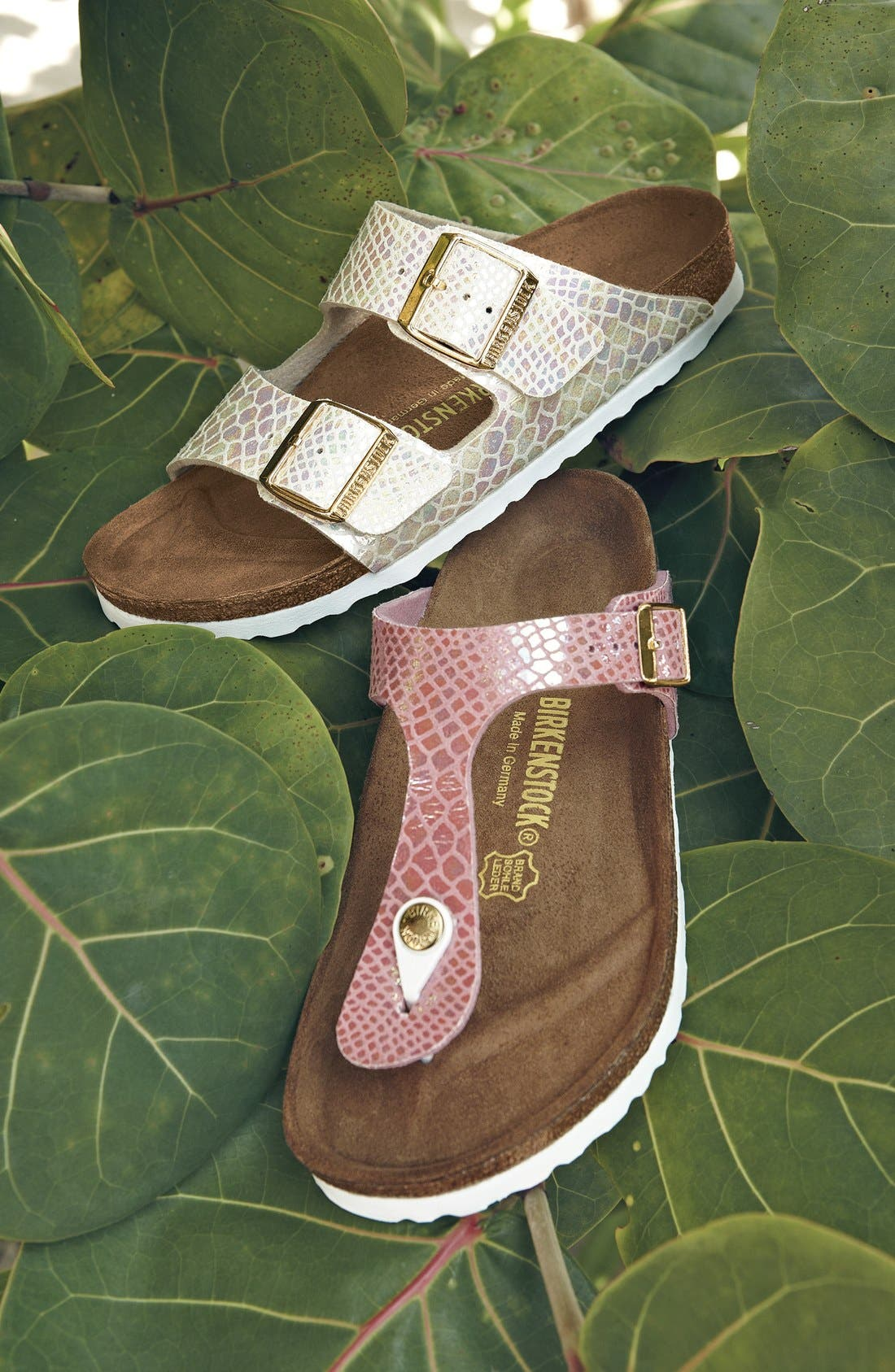 Arizona Birko-Flor Sandal,                             Alternate thumbnail 6, color,