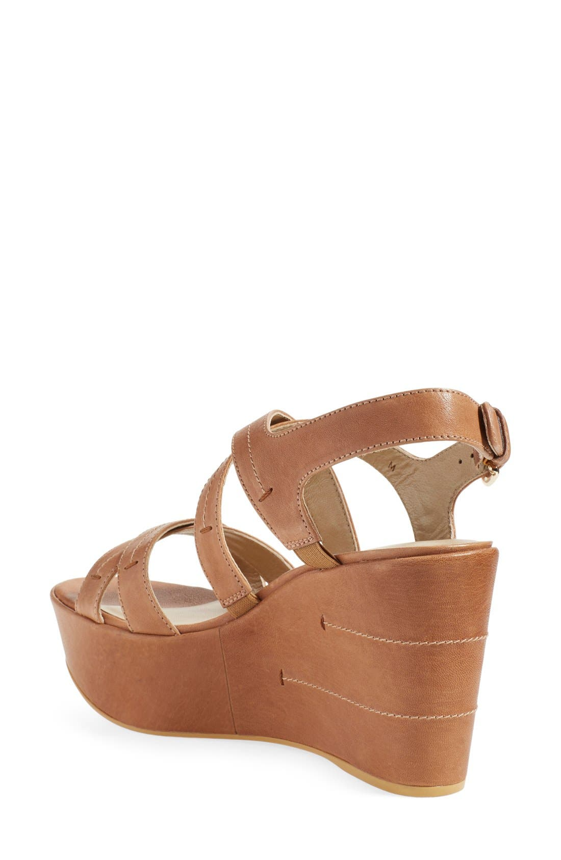 Alternate Image 2  - Stuart Weitzman 'Doublexing' Wedge Sandal (Women)