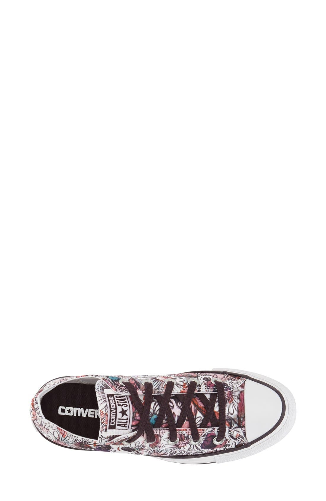 Alternate Image 2  - Converse Chuck Taylor® All Star® 'Daisy Print Ox' Low Top Sneaker