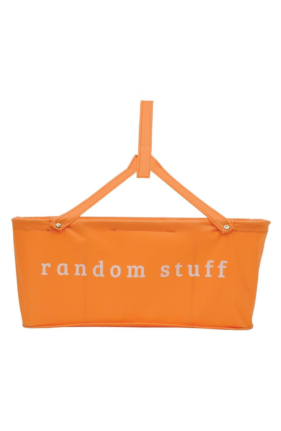 Alternate Image 1 Selected - Creative Co-Op 'Random Stuff' Canvas Basket