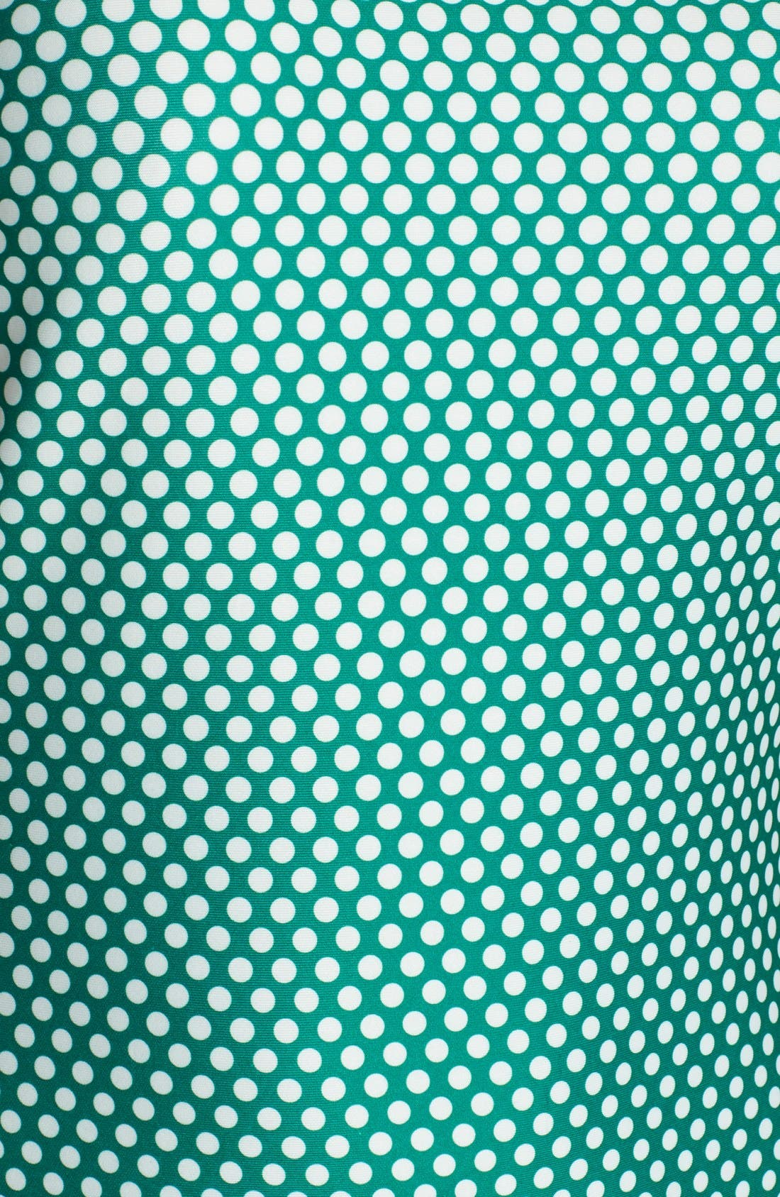 Alternate Image 5  - ECI Ombré Polka Dot Scuba Midi Sheath Dress