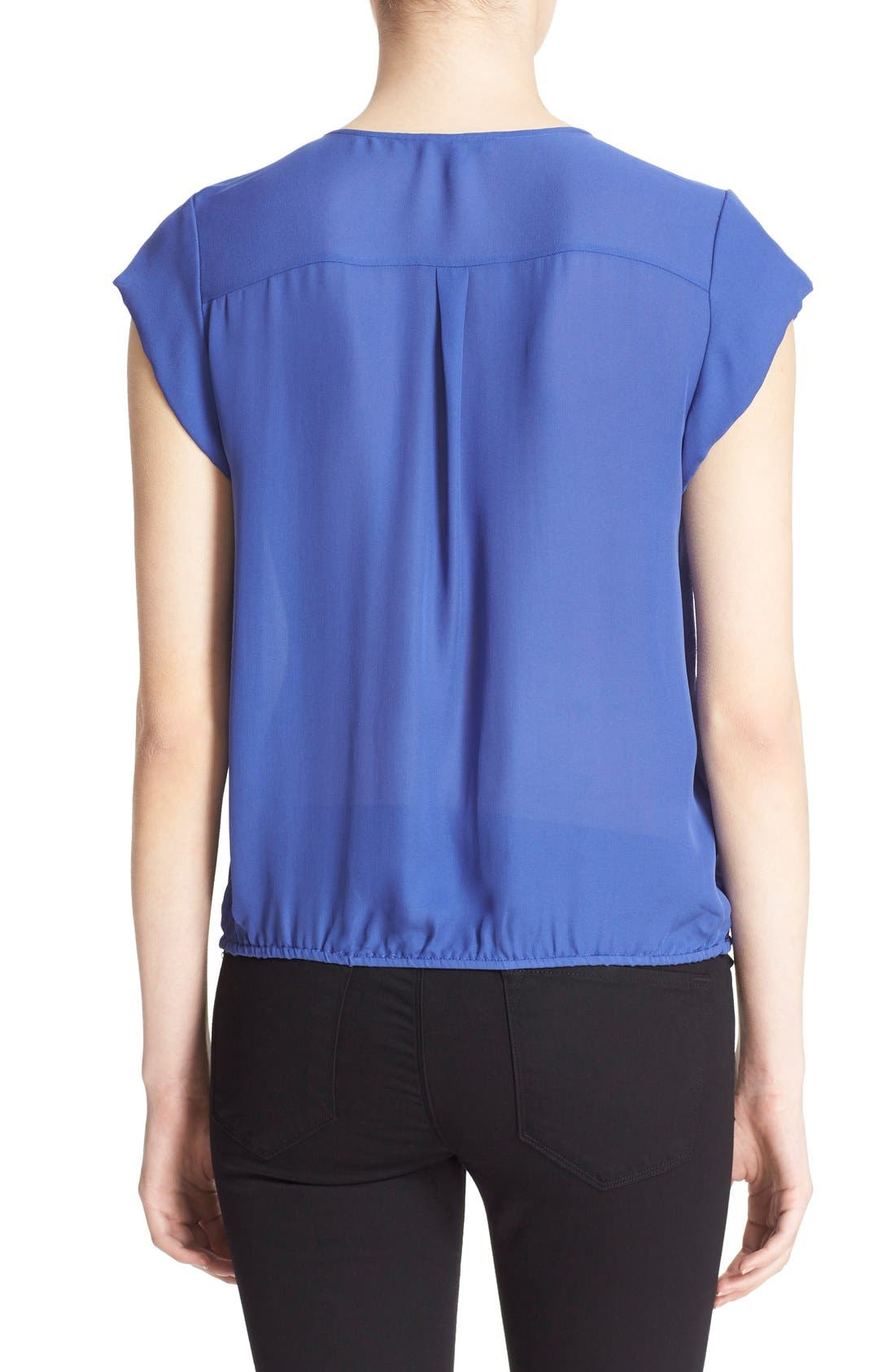 Alternate Image 2  - Joie 'Marcher' Pleated Silk Top