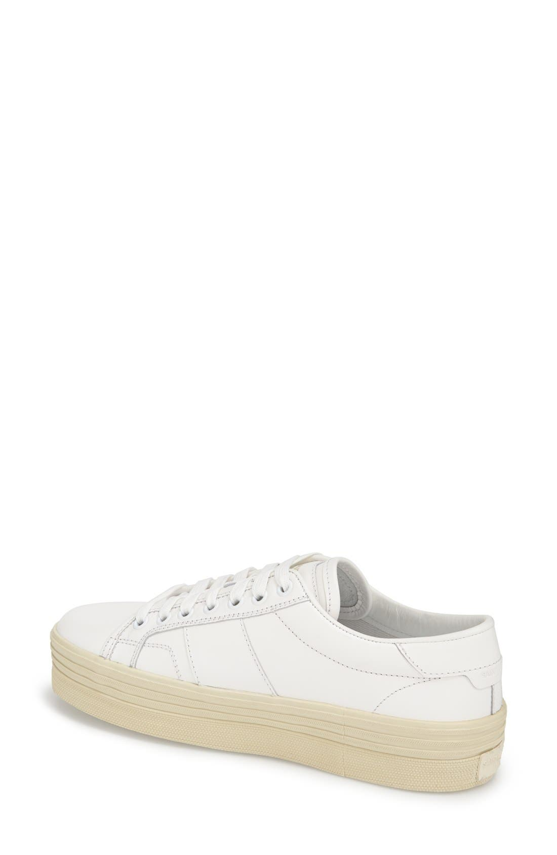 Alternate Image 2  - Saint Laurent Double Sole Sneaker (Women)