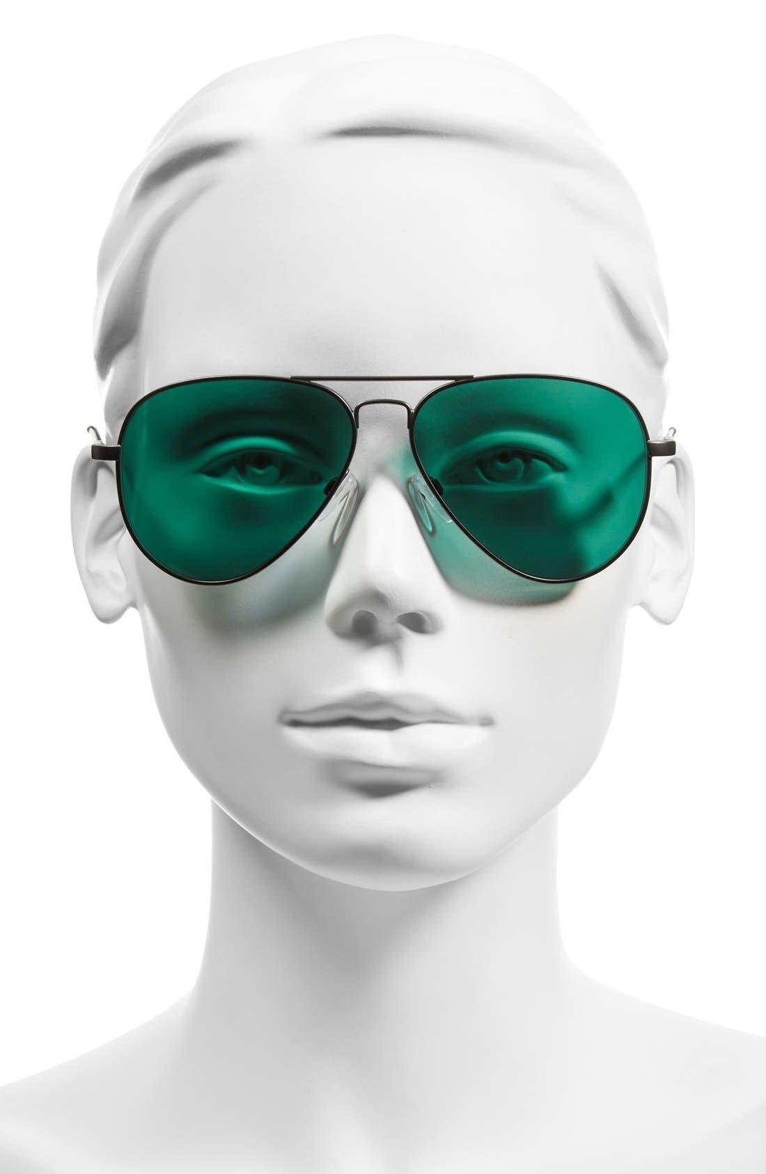 Alternate Image 2  - ELECTRIC 'AV1' 58mm Sunglasses