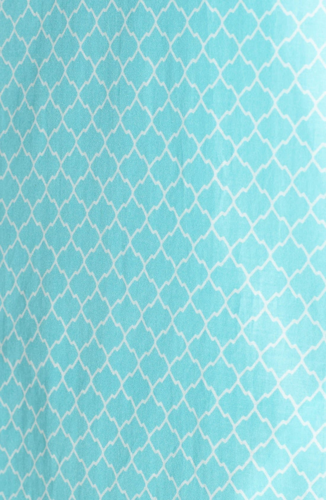 Alternate Image 5  - KUT from the Kloth Print Chambray Shirtdress