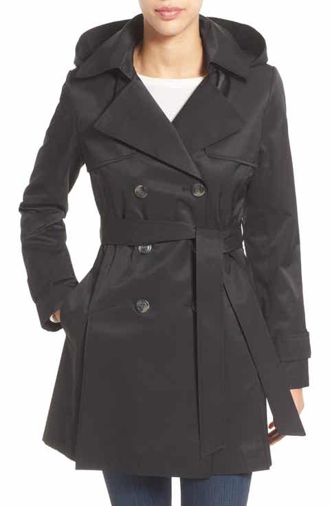 Women's Black Trench Coats | Nordstrom
