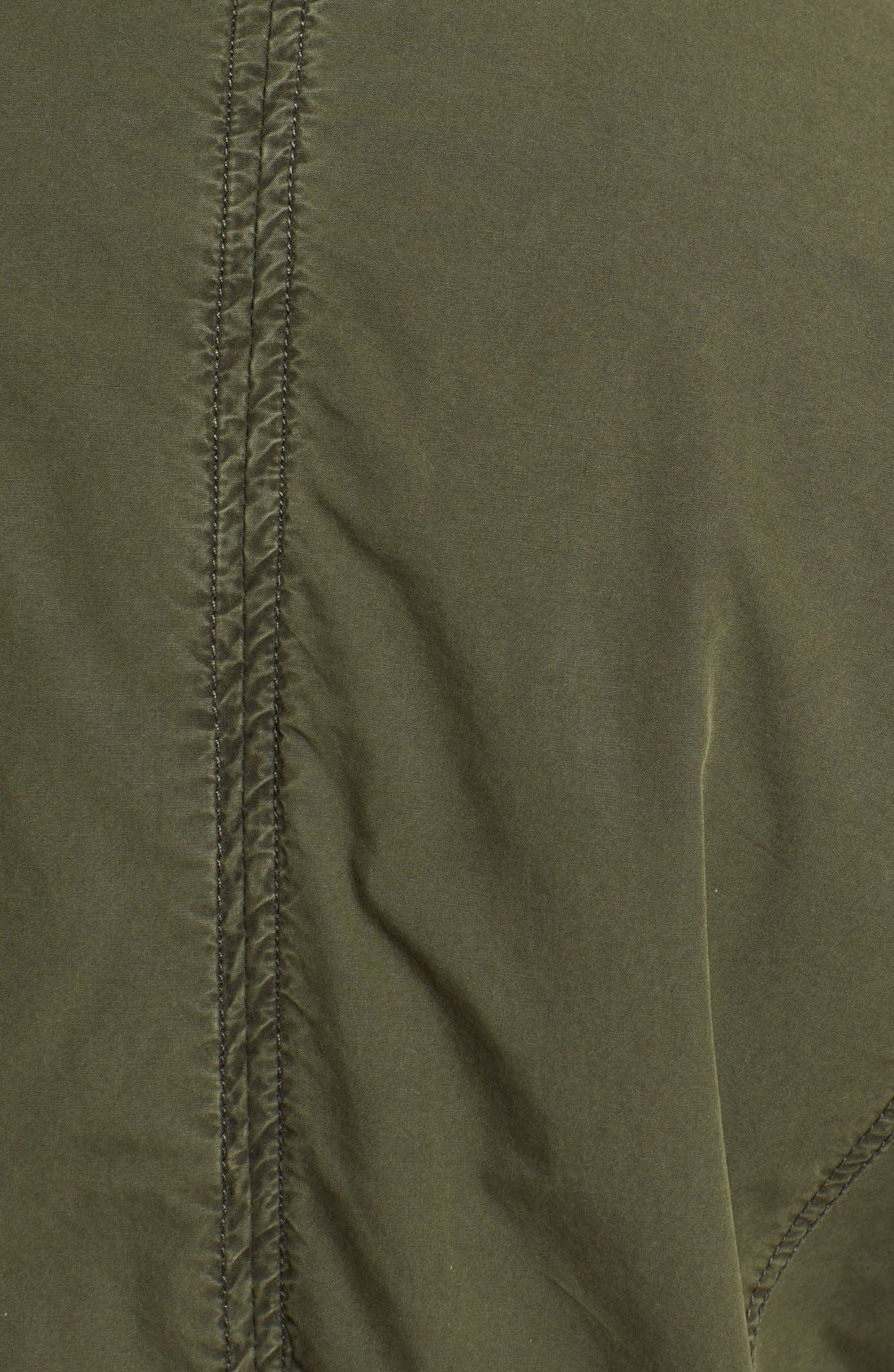 Parachute Hooded Cotton Utility Jacket,                             Alternate thumbnail 6, color,                             Army Green