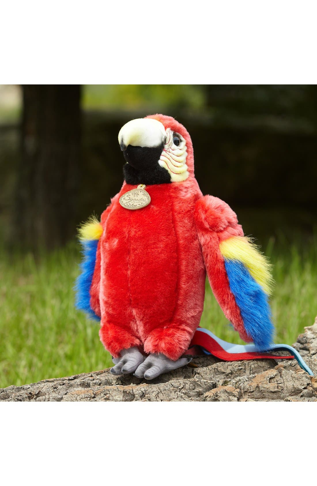'Scarlet Macaw' Stuffed Animal,                             Alternate thumbnail 2, color,                             Red