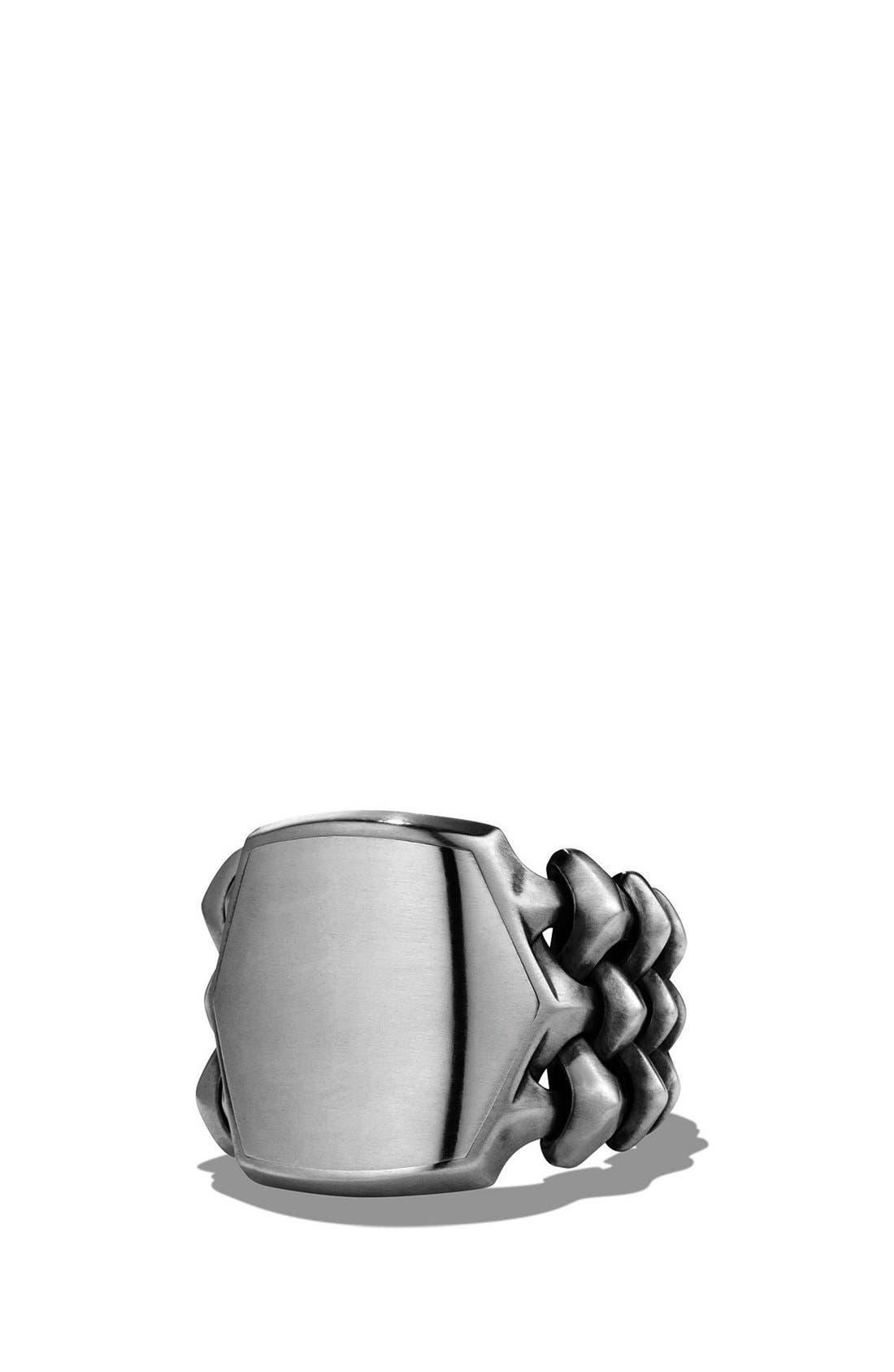 David Yurman 'Armory' Signet Ring