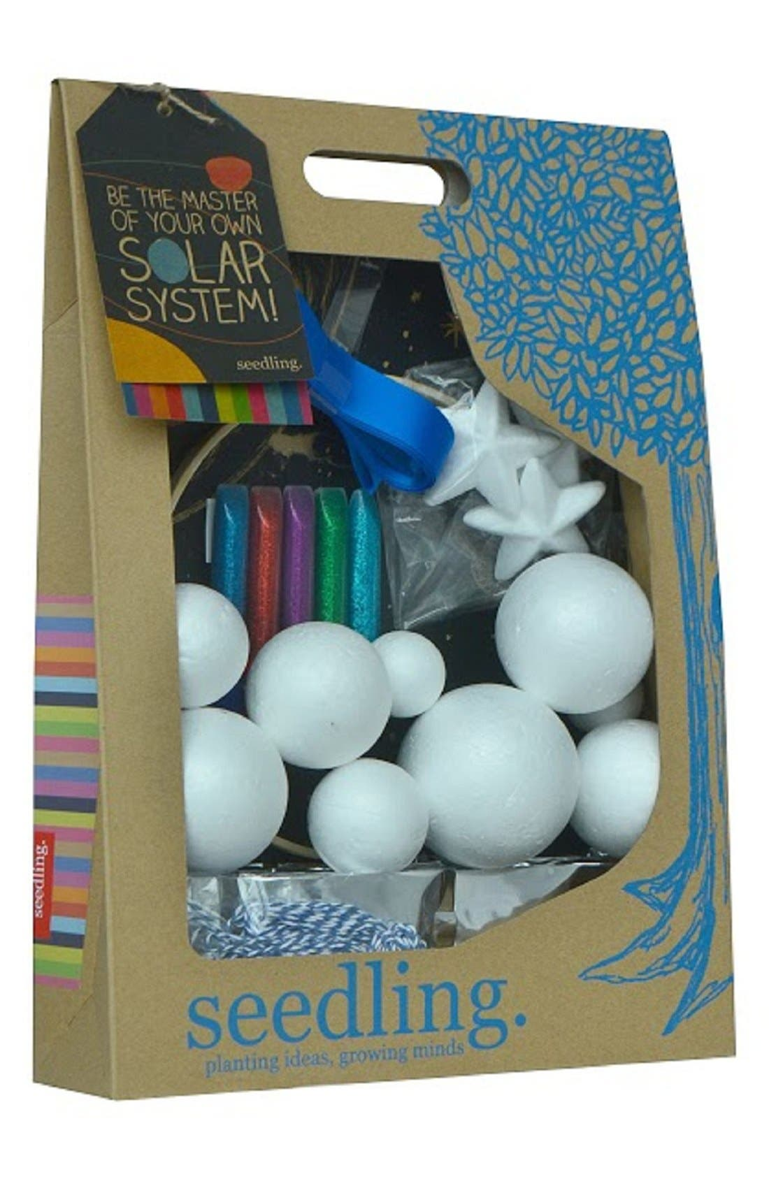 'Be The Master of Your Solar System' Craft Kit,                             Main thumbnail 1, color,                             Multi