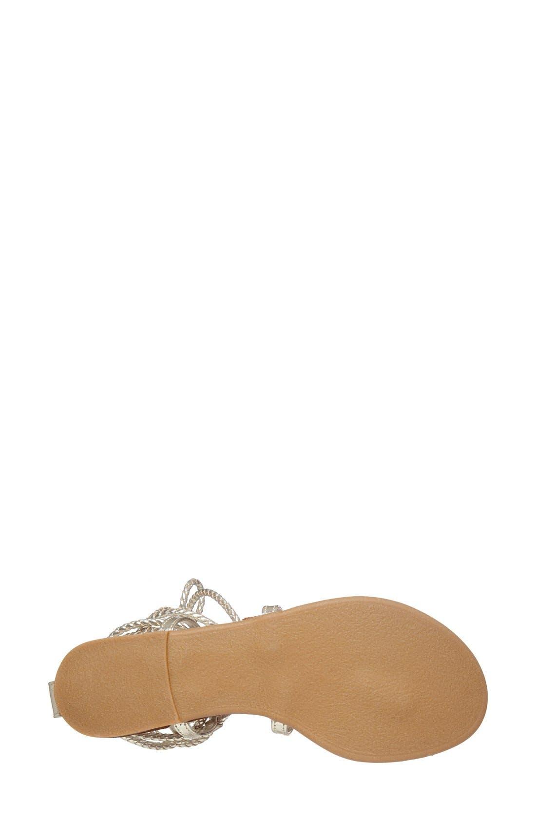 Alternate Image 4  - Steve Madden 'Werkit' Gladiator Sandal (Women)