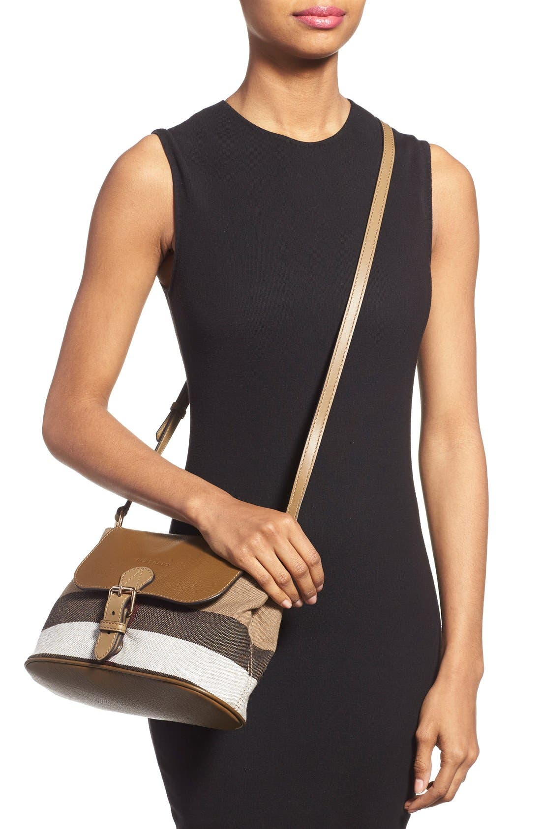 Alternate Image 6  - Burberry 'Small Gowan' Crossbody Bag