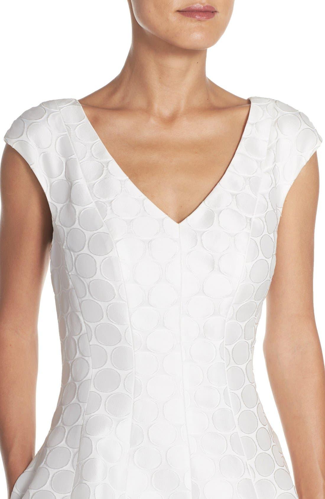 Alternate Image 4  - Julia Jordan Jacquard Fit & Flare Dress