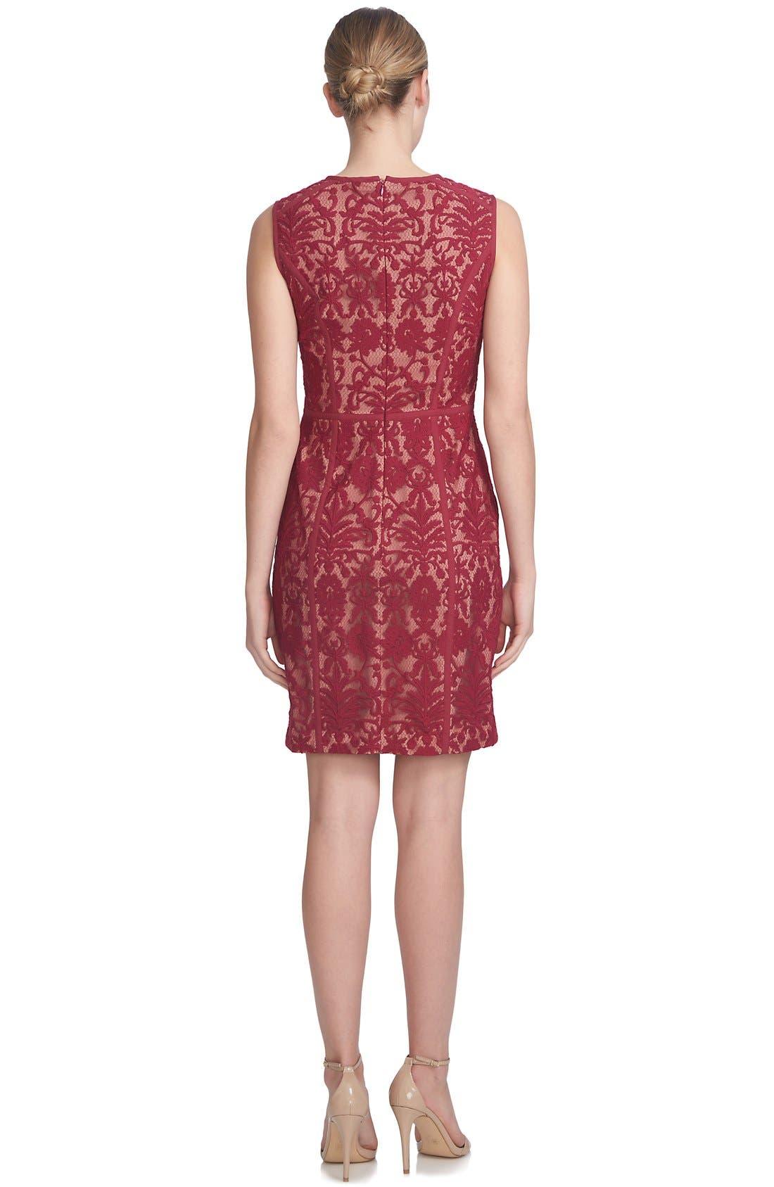 Alternate Image 2  - Cynthia Steffe 'Elenora' Lace Sheath Dress