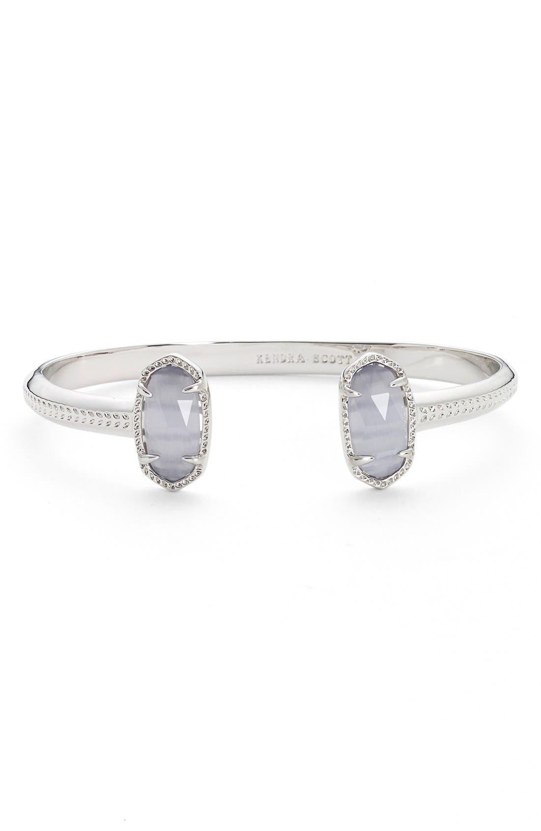 Main Image - Kendra Scott 'Elton' Station Cuff Bracelet