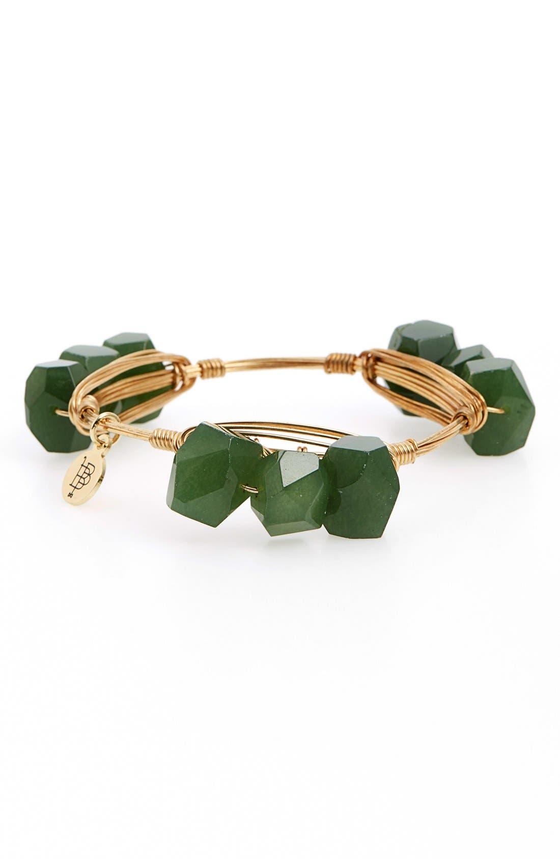 Alternate Image 3  - Bourbon and Boweties Triple Stone Bracelet