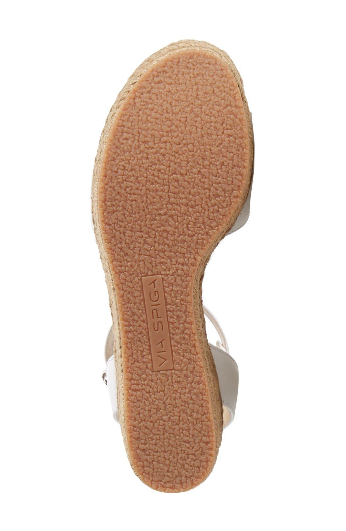 Alternate Image 4  - Via Spiga 'Nemy' Platform Sandal (Women)