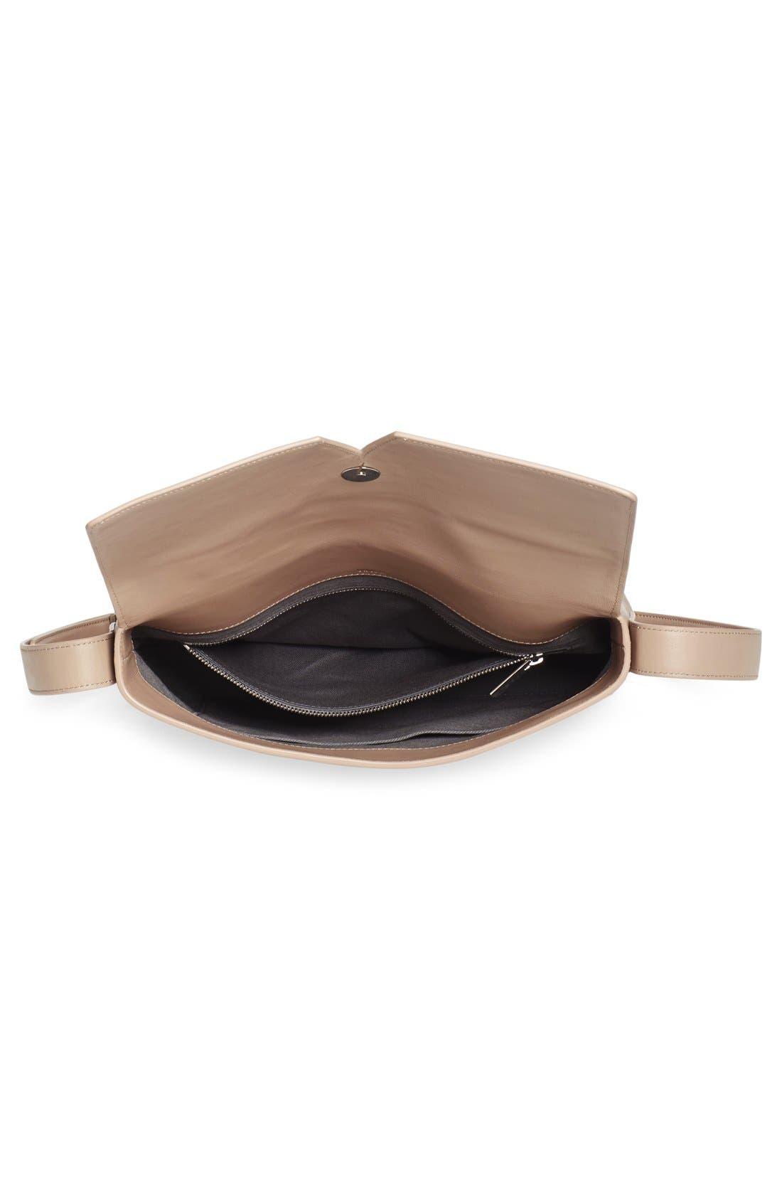Alternate Image 4  - Vince 'Medium Signature' Leather Crossbody Bag