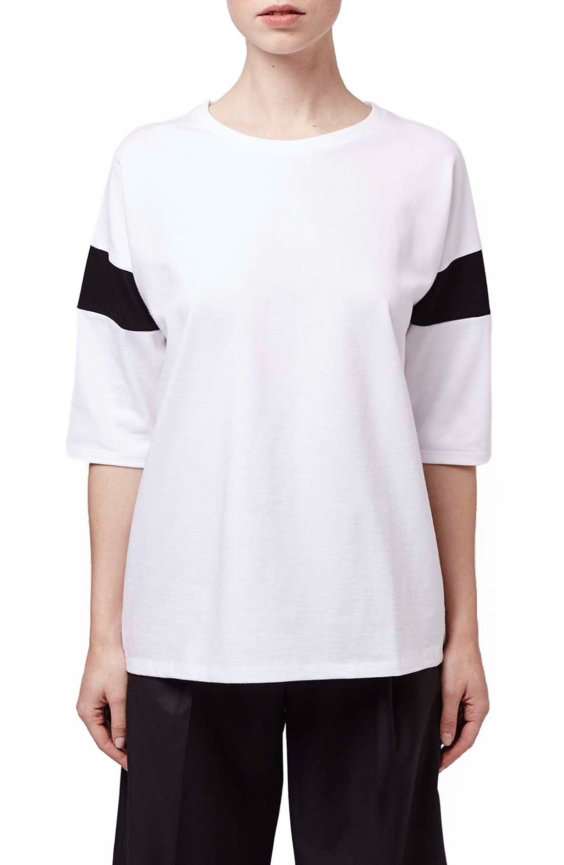 Alternate Image 1 Selected - Topshop Boutique Slouchy Tee