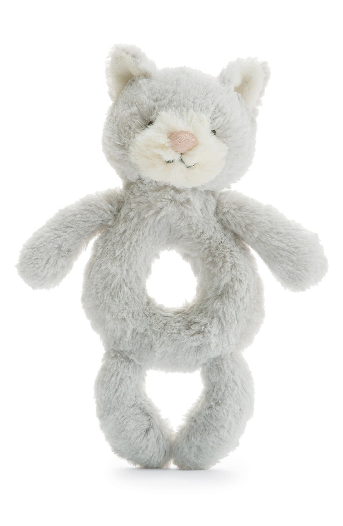 Alternate Image 2  - Jellycat 'Kitty' Grabber Rattle