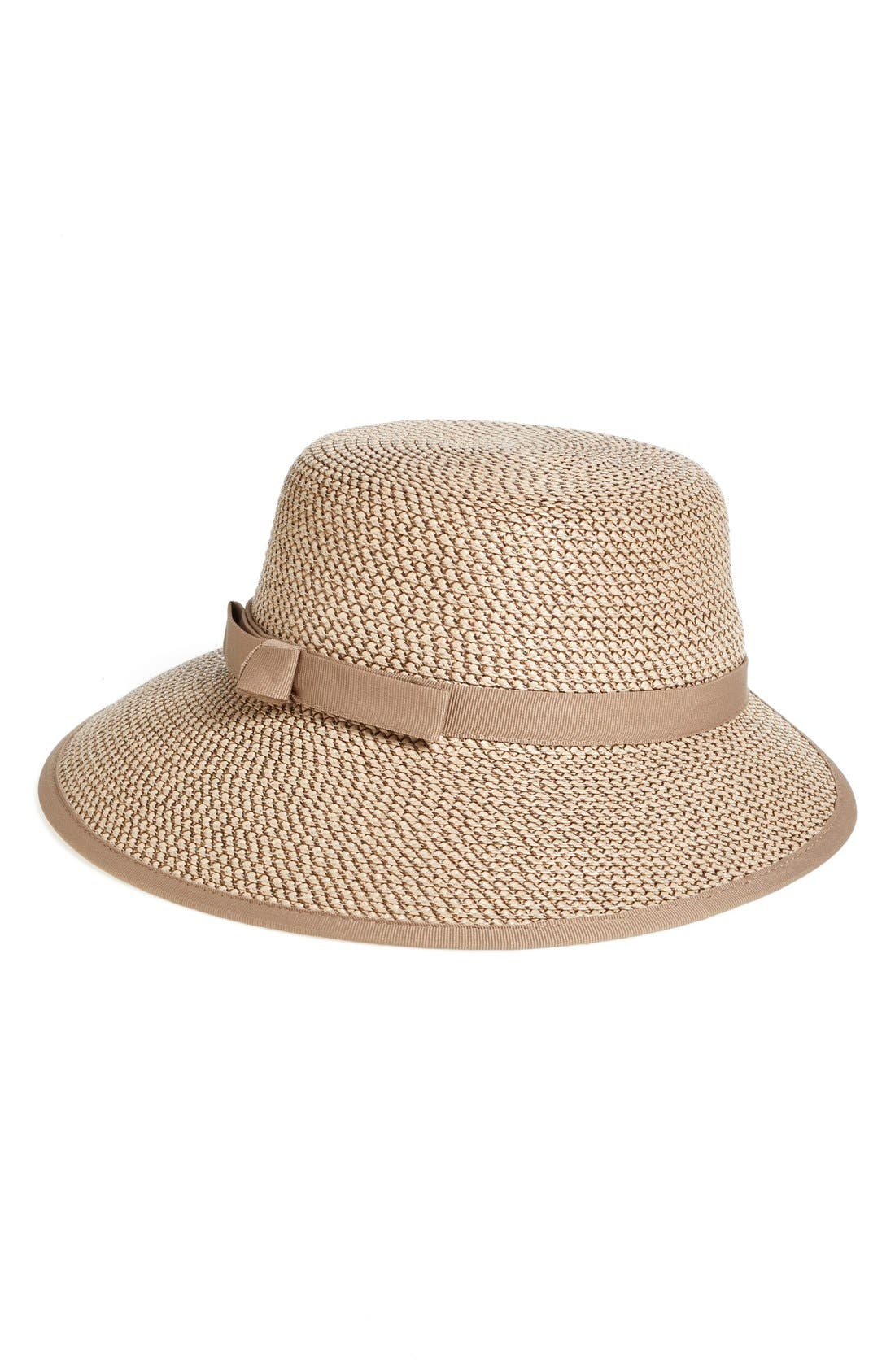 Squishee<sup>®</sup> Straw Cap,                         Main,                         color, Bark/ Brown