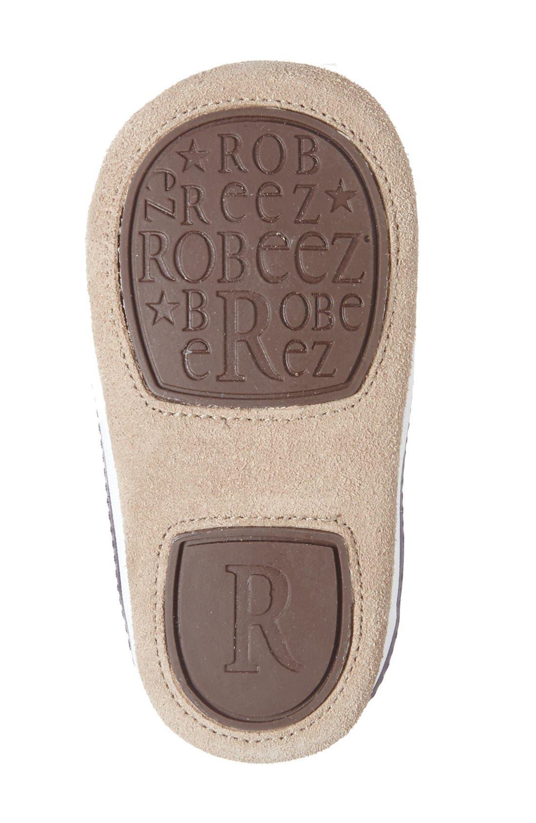 Alternate Image 4  - Robeez® 'Tyler Low Top' Crib Shoe (Baby)