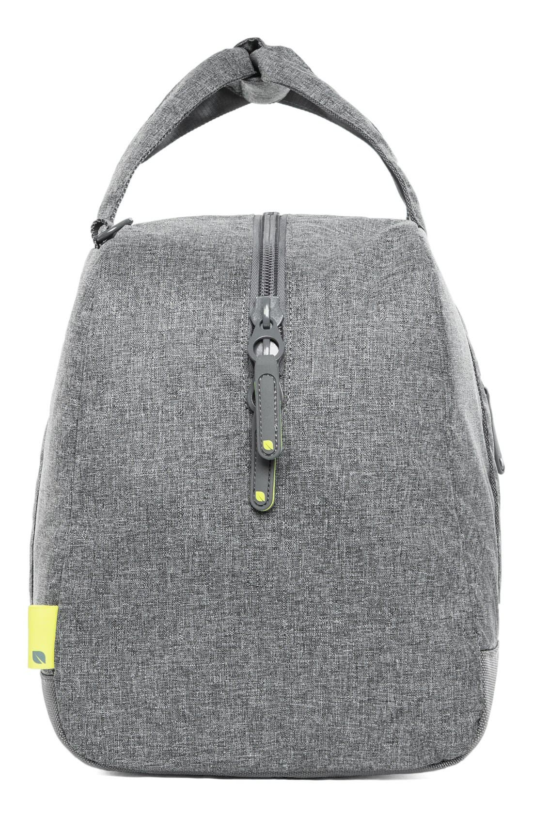 EO Duffel Bag,                             Alternate thumbnail 5, color,                             Heather Grey