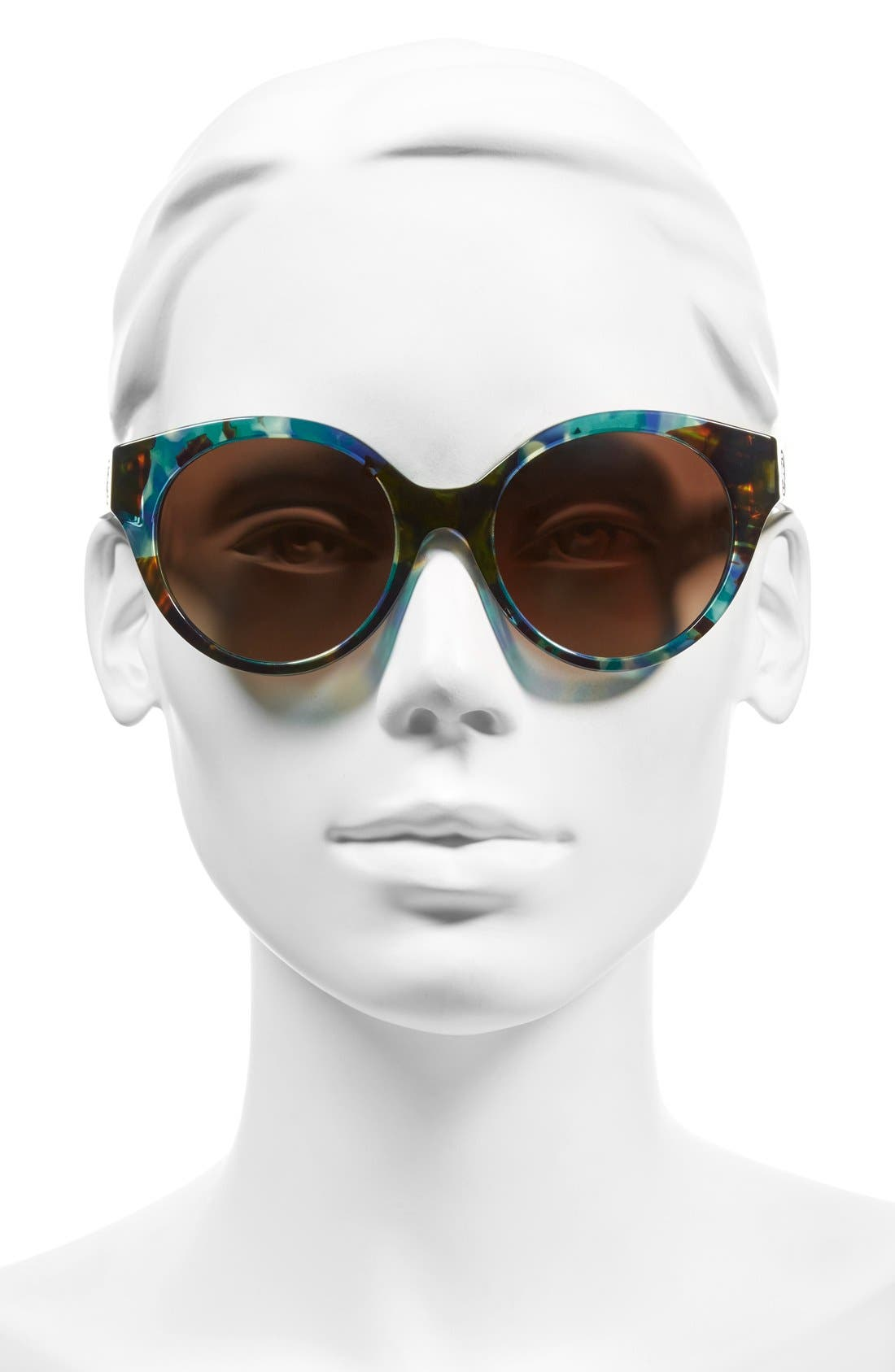 Alternate Image 2  - Tory Burch 52mm Polarized Cat Eye Sunglasses