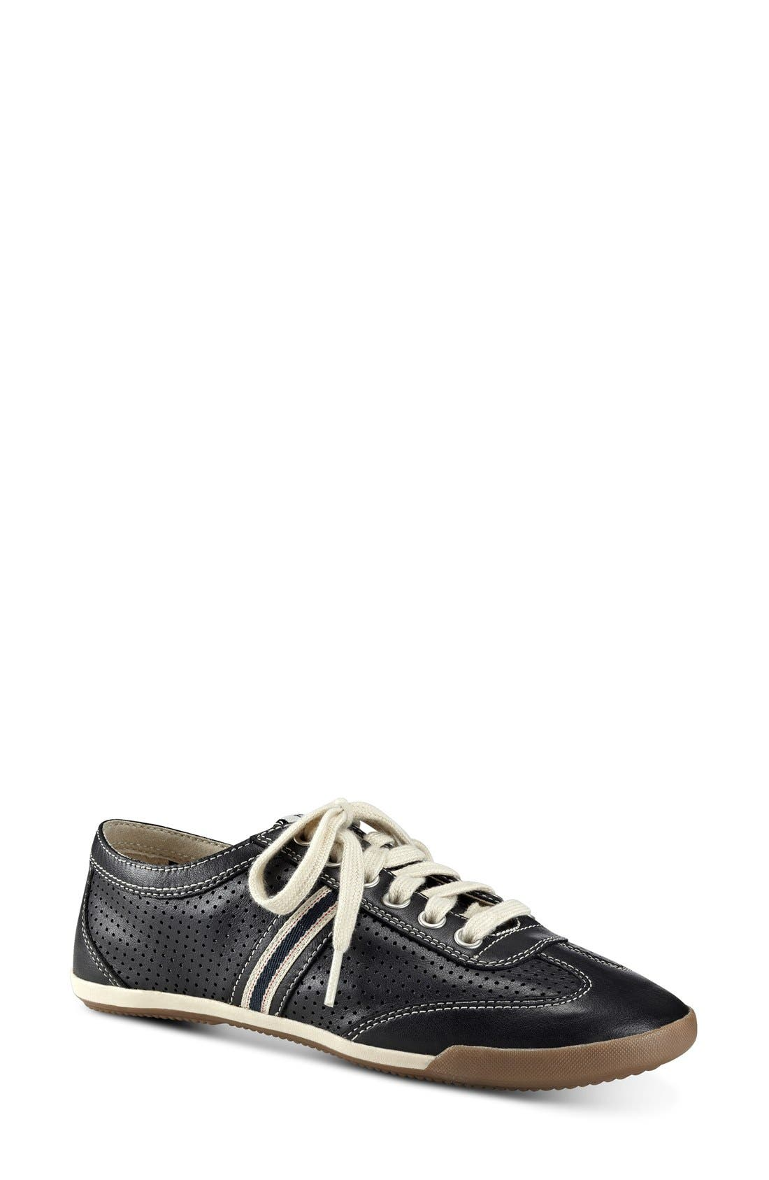 'Escondido' Sneaker,                         Main,                         color, Black Leather