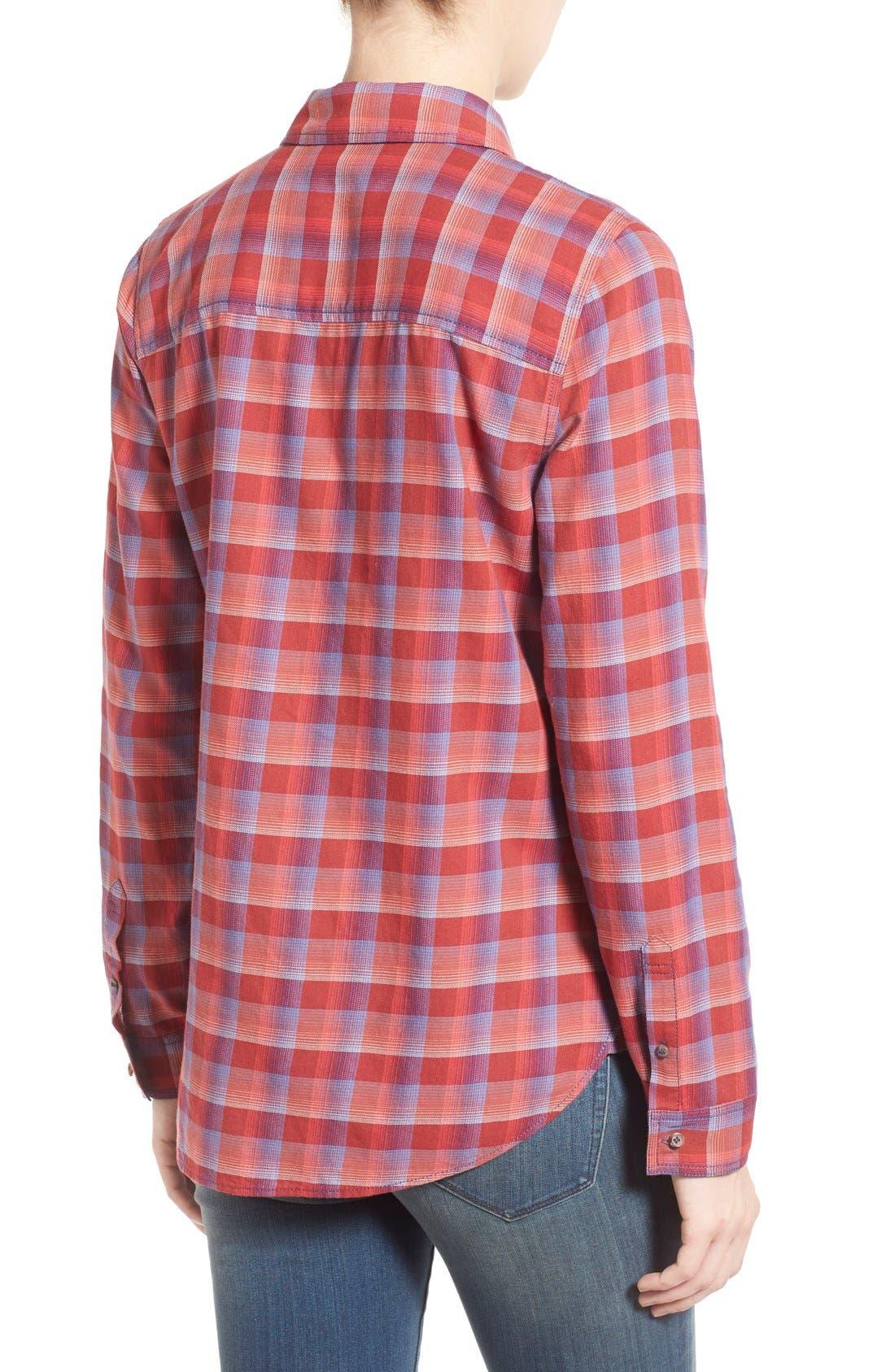 Alternate Image 3  - Treasure&Bond Cotton Plaid Shirt