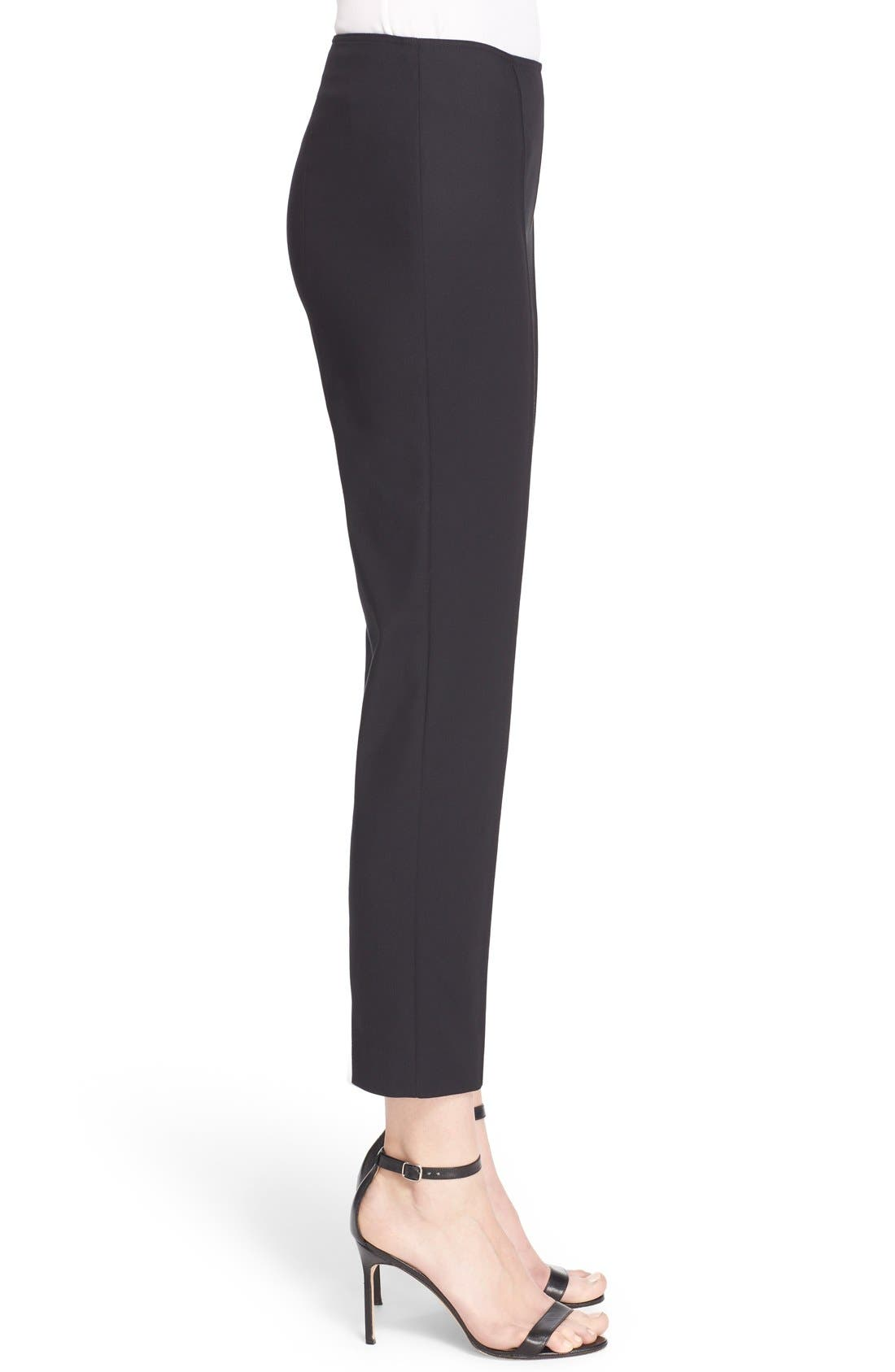 Alternate Image 5  - John Collection 'Alexa' Stretch Micro Ottoman Ankle Pants