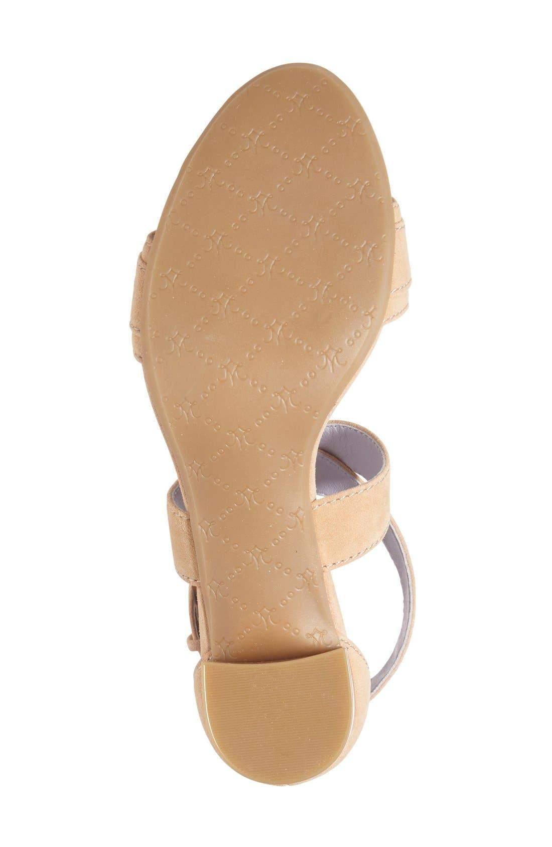 Alternate Image 4  - Johnston & Murphy 'Katarina' Block Heel Sandal (Women)
