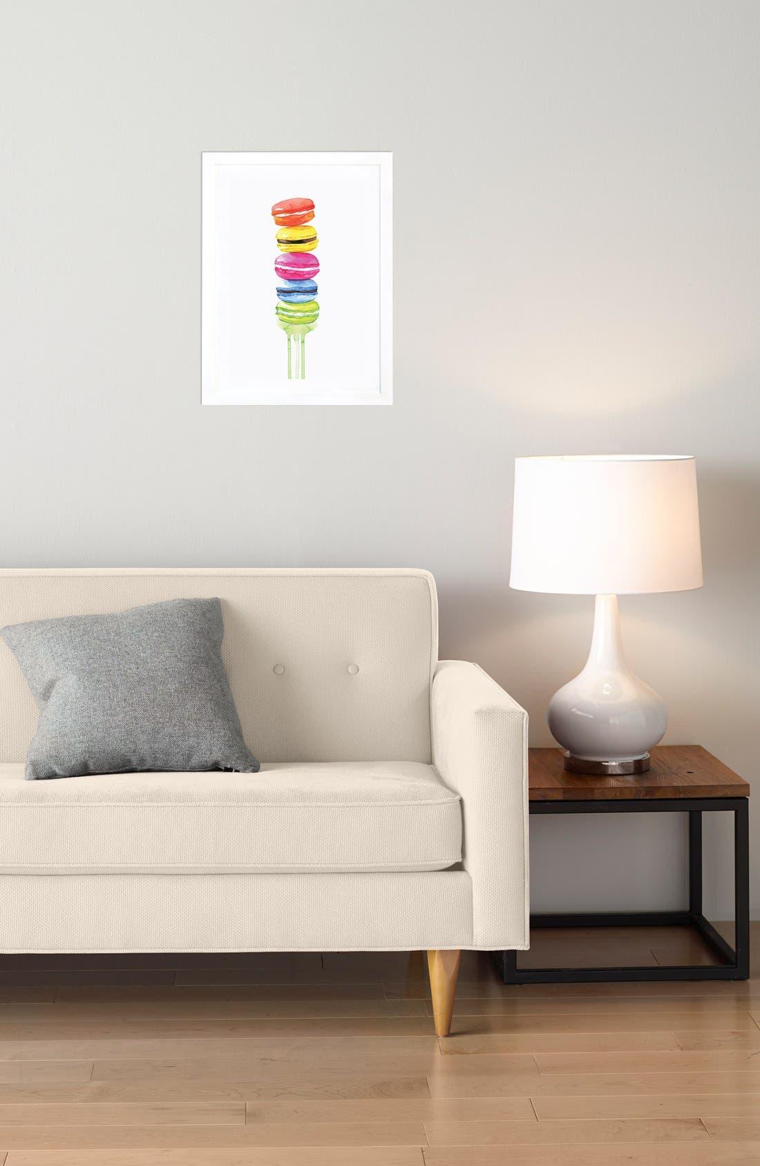 Alternate Image 3  - iCanvas 'Macarons' Framed Fine Art Print