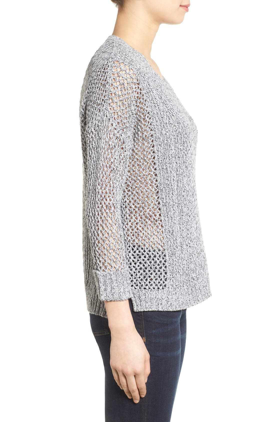 Alternate Image 3  - Madewell 'Karlie' Cable Knit Sweater