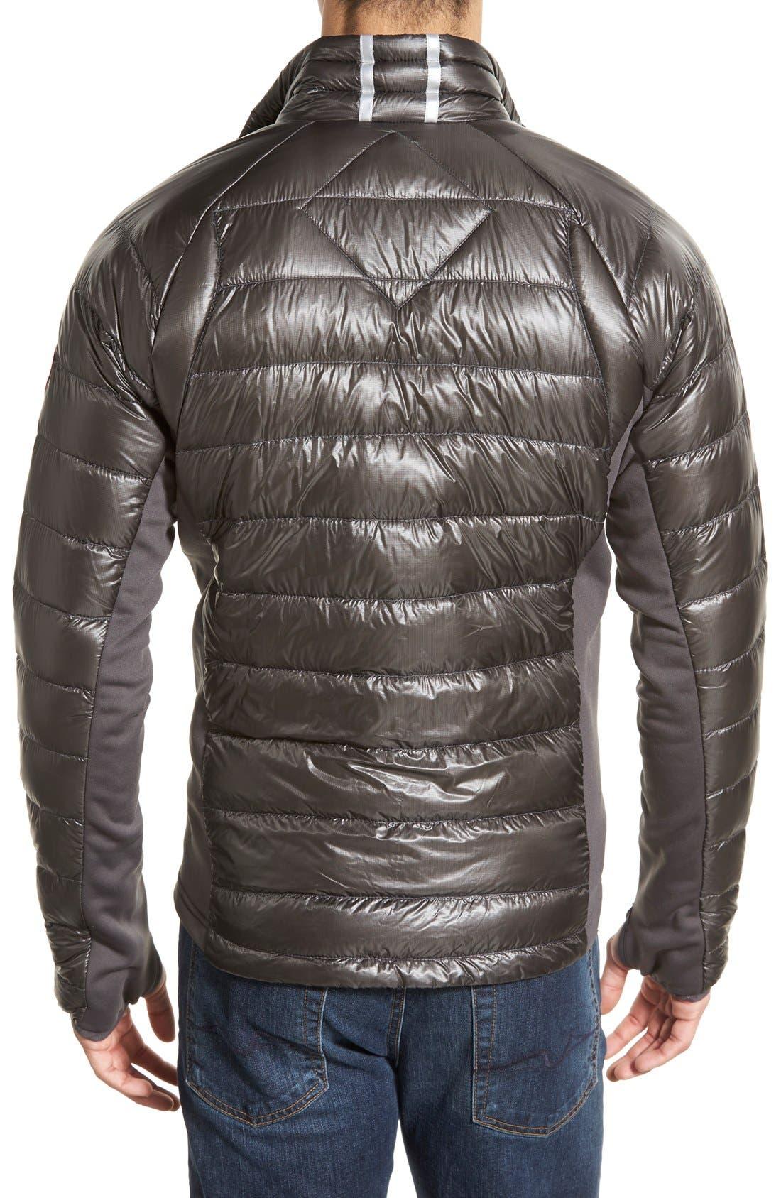 'Hybridge<sup>™</sup> Lite' Slim Fit Packable Jacket,                             Alternate thumbnail 2, color,                             Graphite