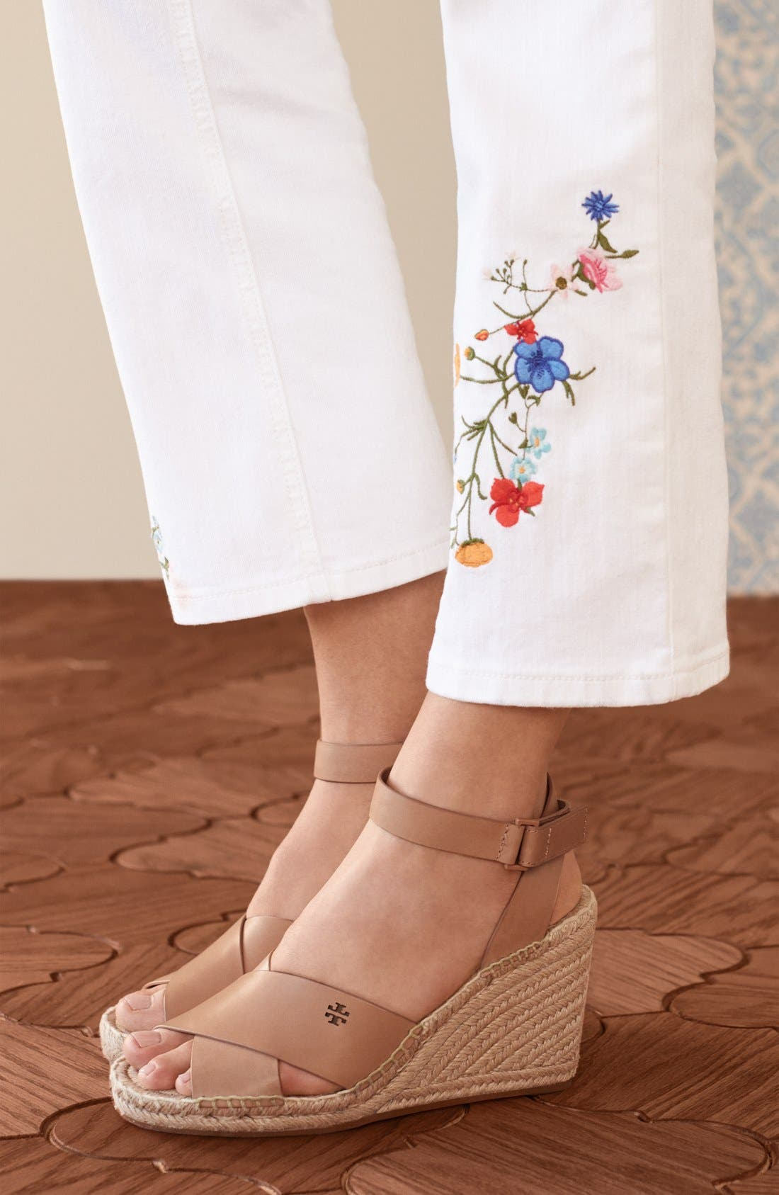 Alternate Image 6  - Tory Burch 'Bima' Espadrille Wedge (Women)