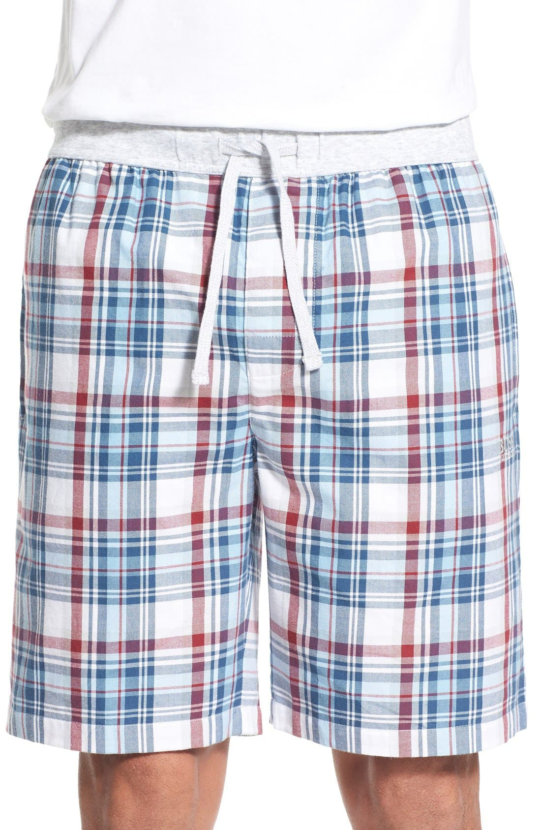 BOSS 'Dynamic' Plaid Shorts