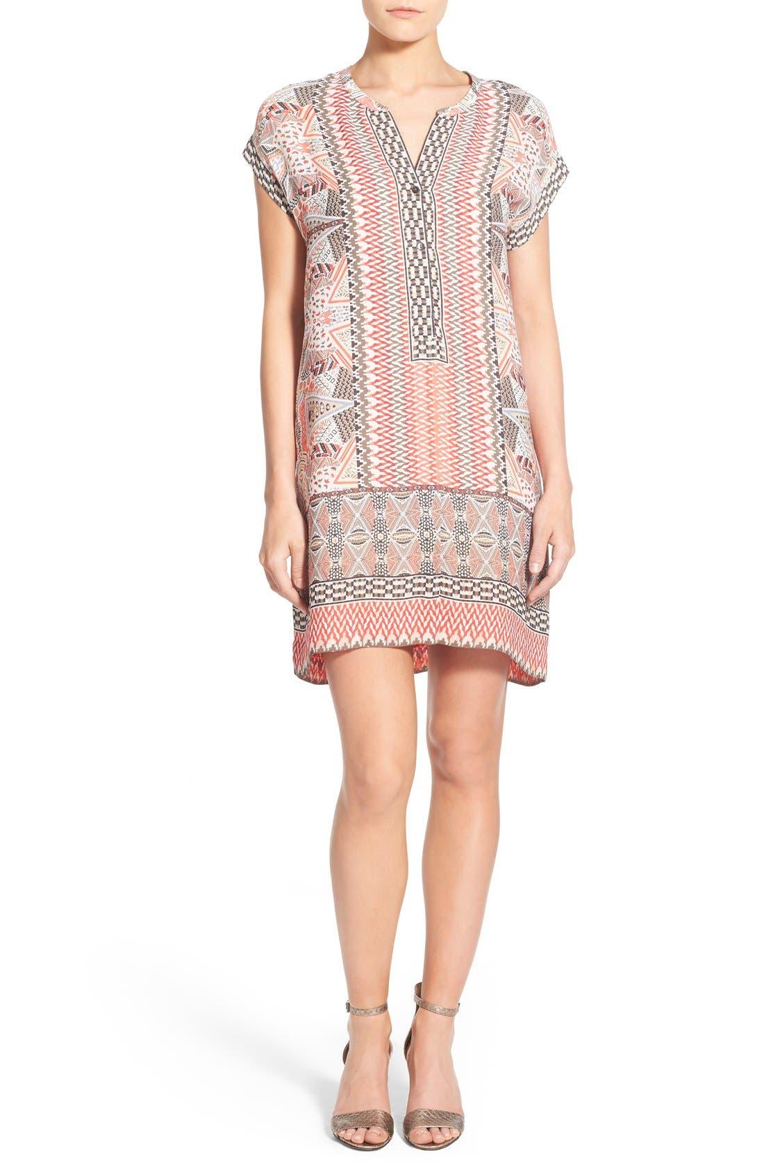 Alternate Image 1 Selected - NIC+ZOE 'Prismatic' Print Shift Dress