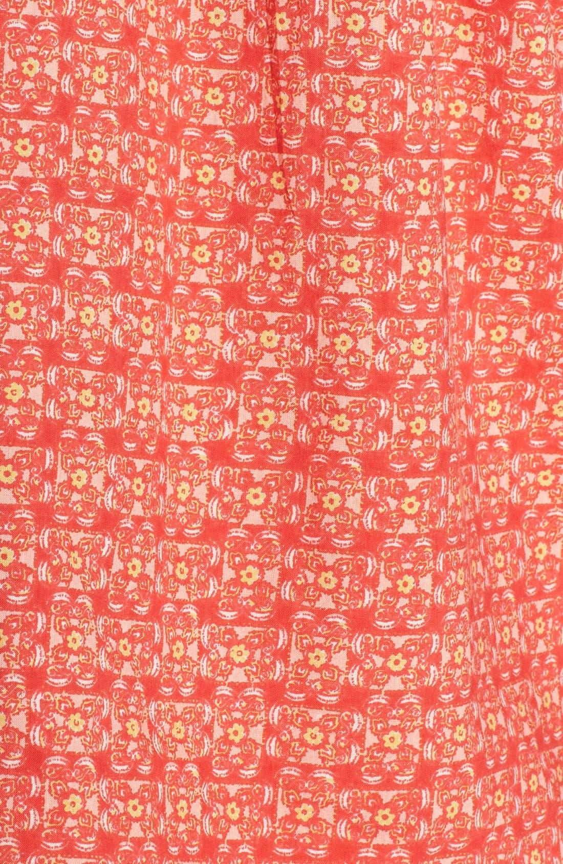 Alternate Image 5  - Lucky Brand Print Short Pajamas