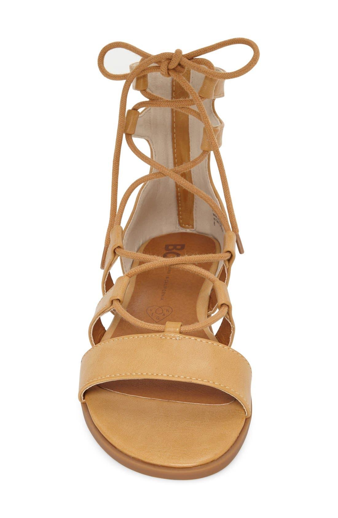 Alternate Image 3  - BC Footwear 'Pocket Size' Lace-Up Flat Sandal (Women)