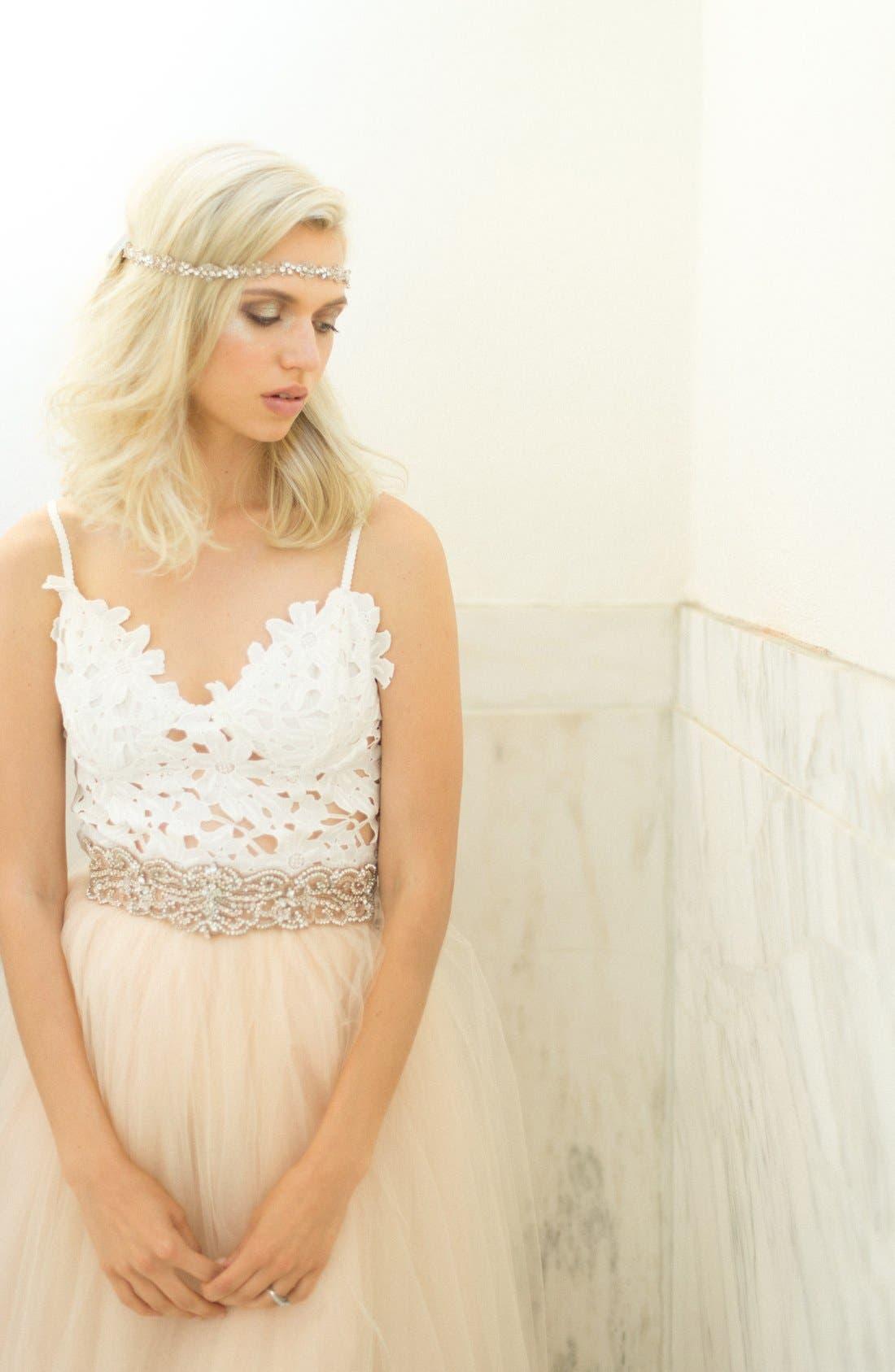 Alternate Image 5  - Camilla Christine Wide Jeweled Belt