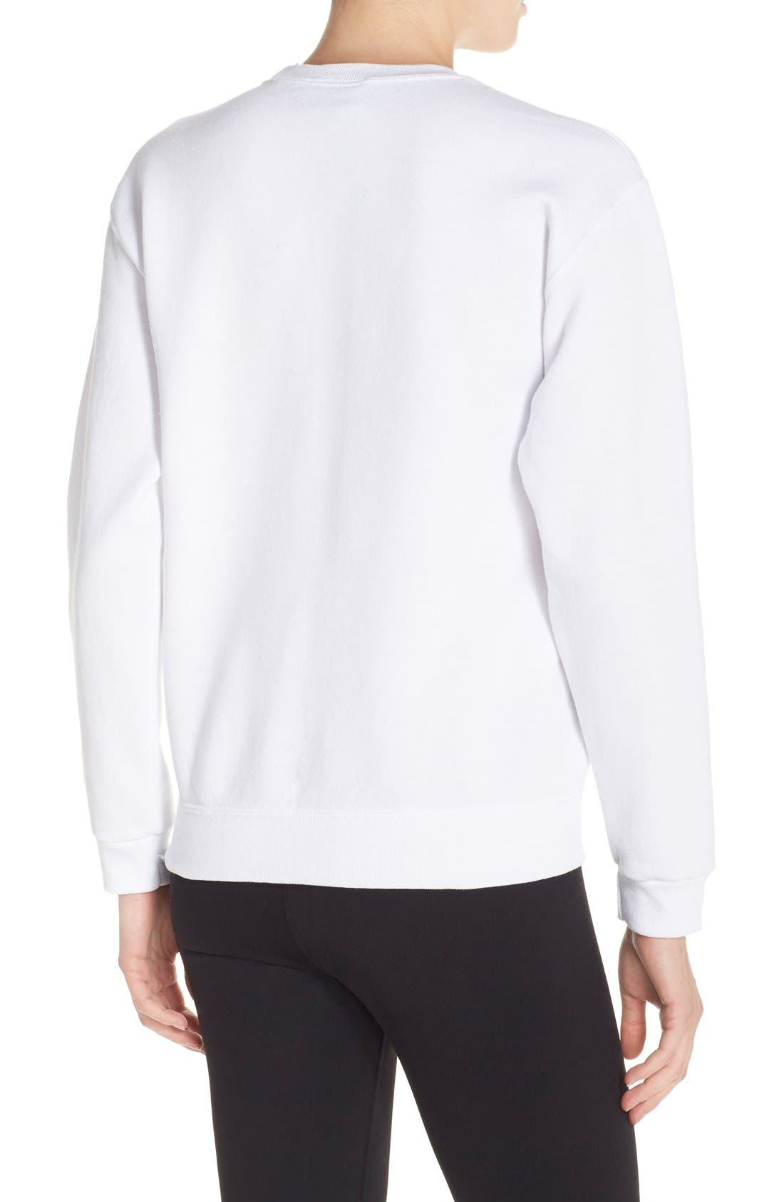 Alternate Image 2  - Private Party 'Seriously Cannot' Sweatshirt